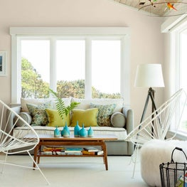 Living Space in Harpswell Oceanfront Home