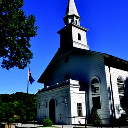 Historic Restoration of St. John's Church in Cold Spring Harbor, New York.