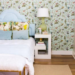 Pastel + Feminine Bedroom