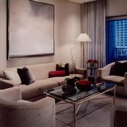 Michigan Avenue Apartment Living Room