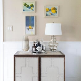Upholstered Chest in a Wilmington, Delaware Home