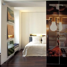 PARIS Sliding wallpaper door