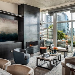 Toronto Penthouse Living Room