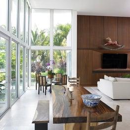 Modern Zen Dining Area