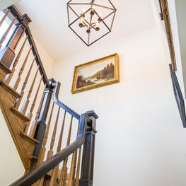 Farmhouse, Stairwell to second level