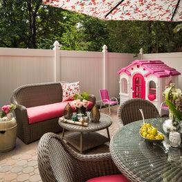 Park Slope Brownstone, backyard design