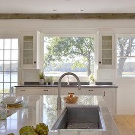 Rye kitchen overlooking the Long Island Sound / Bilotta Kitchens