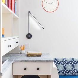 Tucked Away Kitchen Desk