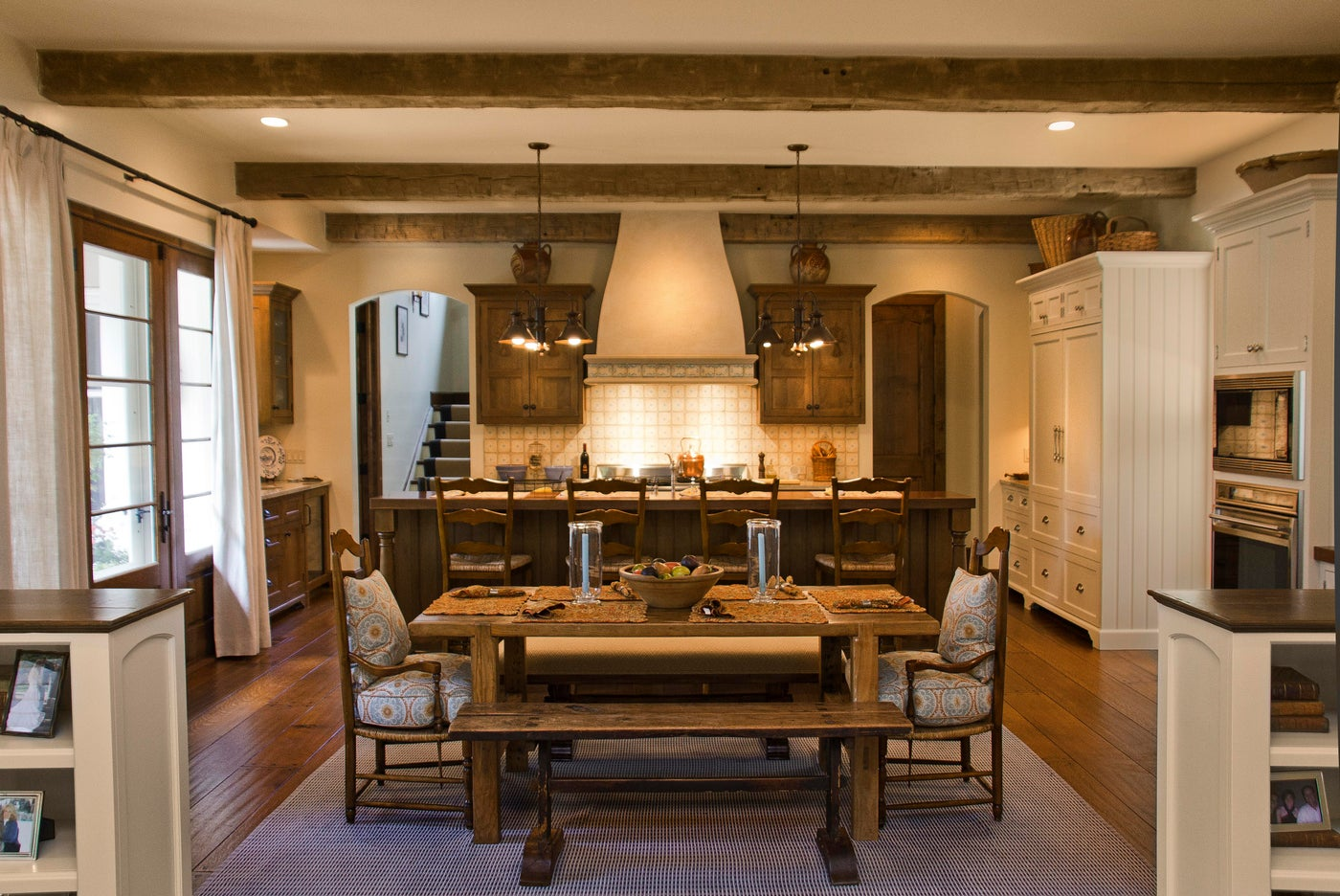 French Country Style Residence  |  Cold Spring Harbor, New York.