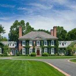 Federal, Brick Residence in Darien, CT