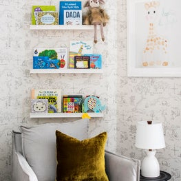 Reading Nook in Tribeca Nursery