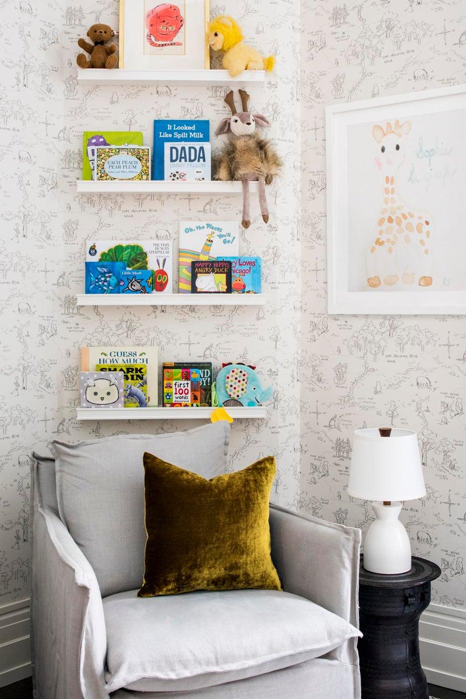 Reading Nook in Tribeca Nursery