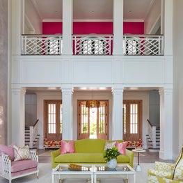 Dramatic Color by JMA Interior Design