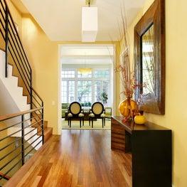 Gleicher Eco-Friendly Townhouse Stair Hall