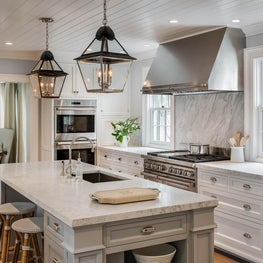 Connecticut Kitchen with Island