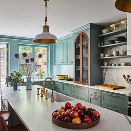 Cobble Hill Brownstone Kitchen