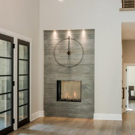 Transitional Residence contemporary entryway - Chester County, PA