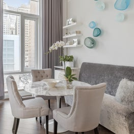 Battery Park City Residence, Dining