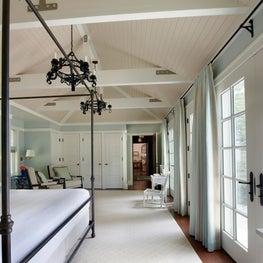 Michigan Summer Home Master Bedroom