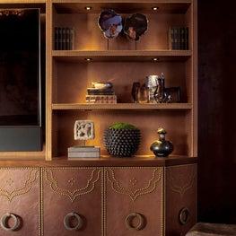 Luxe Upper East Side Renovation, Living Room Built In