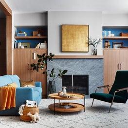 25th Street - Living Room