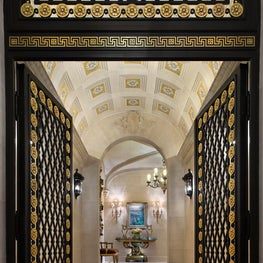 Historic New York City Townhouse Major Renovation - Main Entry Vestibule