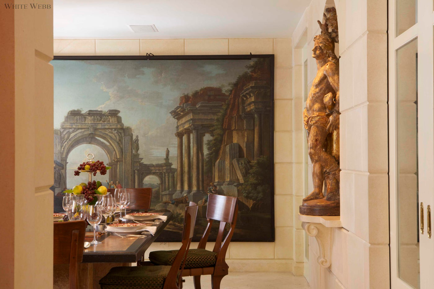 Neoclassical Dining Room