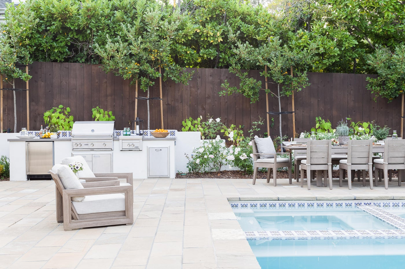 Bay Area Backyard Entertaining Oasis