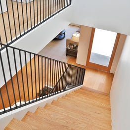 Noe Valley Residence, Staircase