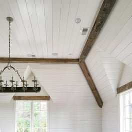 Private Residence, Original Surface Reclaimed Beams