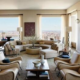 New York Panoramic Living Room