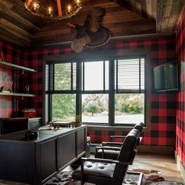 Modern Farmhouse Home Office / Study