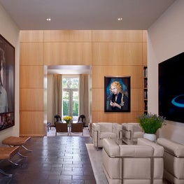 Residence for an Art Collector - Sitting Room
