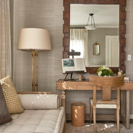 Traditional Home Magazine Napa Showcase House. Design by Erinn V. Design Group.  Neiman Desk by Erinn V.