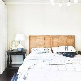 A comfortable guest bedroom