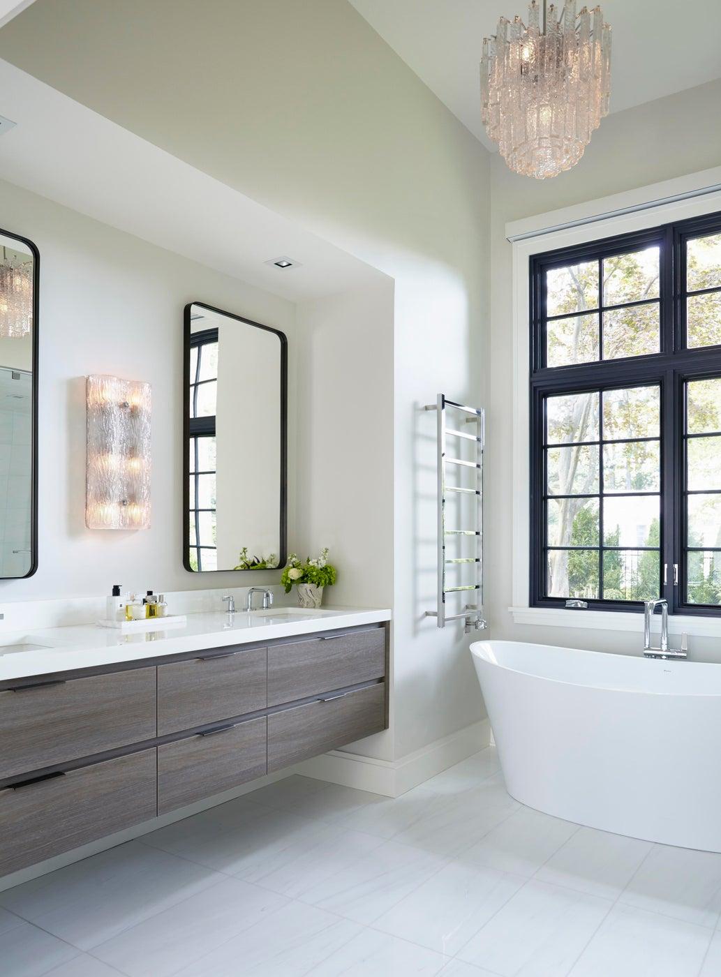Modern Bathroom, Scarsdale, New York