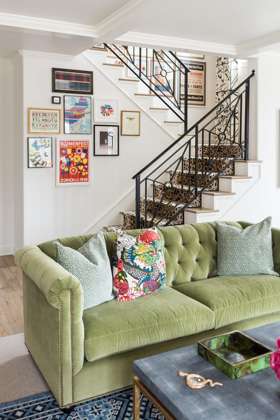 Color Me Bold Living Area