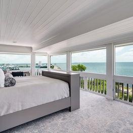 Serene Oceanview Cottage Master Suite