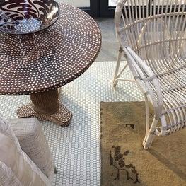 sunroom detail // Edgemoor_Huntley & Co. Interior Design