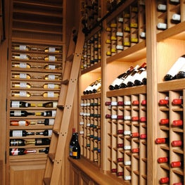 We designed a luxury lifestyle wine cellar for our client.