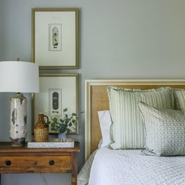 Soft palette and rich textures bring a new feel to antique pieces