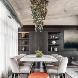 Toronto Penthouse Dining Room