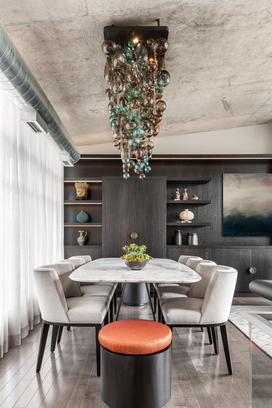Toronto Penthouse Dining Room