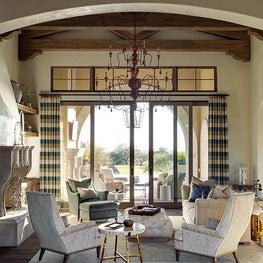 Refined Desert Haven Great Room