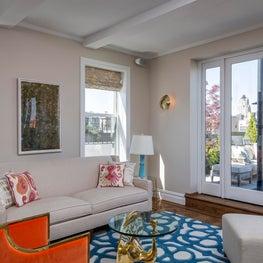 Upper West Side Residence Family Room