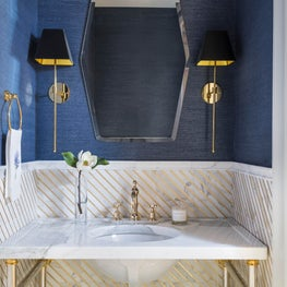 Powder Room in Williamsburg Loft
