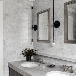 Ballard Cottage master bathroom