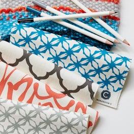 Variety of Workroom C Fabrics