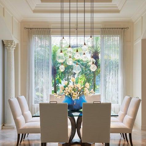 Elegant Golf Manor Dining Room
