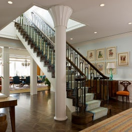 New York Penthouse - Entry Hall with Stairway